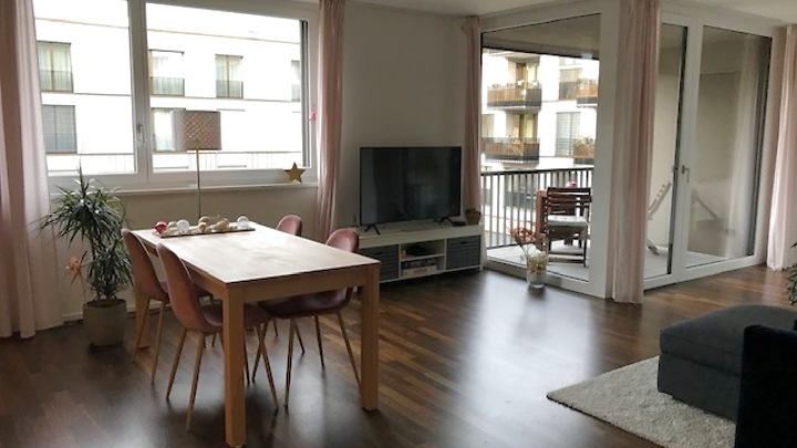 BASELWORLD: 2½ room apartment in Basel - Rosental, furnished, temporary