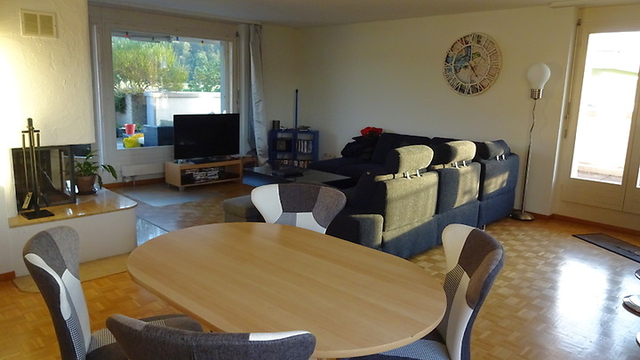 5½ room apartment in Suhr, furnished, temporary