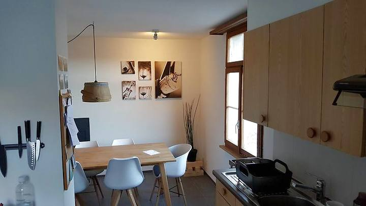 3½ room attic apartment in Malans (GR), furnished, temporary