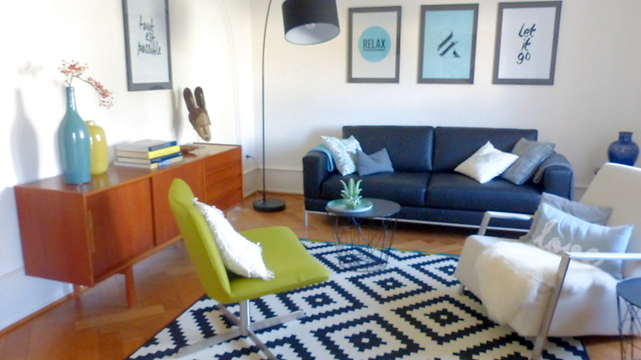 3 room apartment in Basel - Iselin, furnished