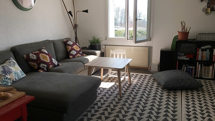 4 room apartment in Villars-sur-Glâne (FR), furnished, temporary
