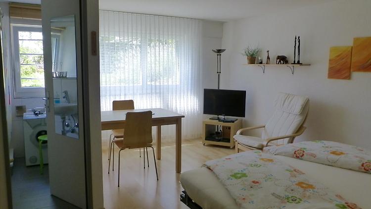 1 zimmer wohnung in bolligen m bliert auf zeit nr 43097 ums ag untermietservice schweiz. Black Bedroom Furniture Sets. Home Design Ideas