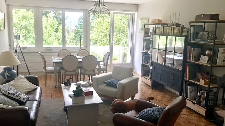 4 room apartment in Genève - Florissant, furnished, temporary