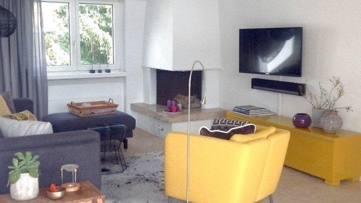 3½ room attic apartment (penthouse) in Rieden (AG), furnished