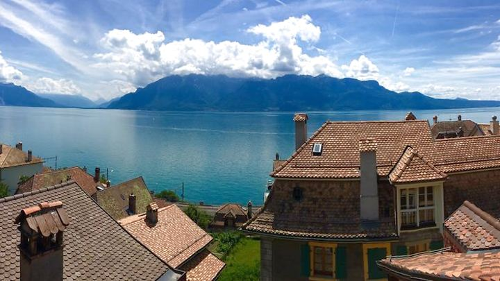4½ room maisonette apartment in St-Saphorin (Lavaux), furnished, temporary