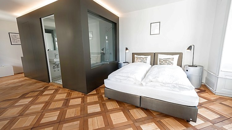 1 room apartment in luzern furnished switzerland for Room design zug