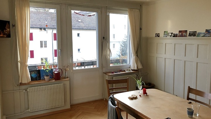 4 room apartment in St. Gallen - St. Fiden/Neudorf, furnished, temporary