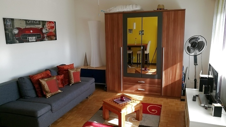 1½ room apartment in Basel - Birsfelden, furnished, temporary