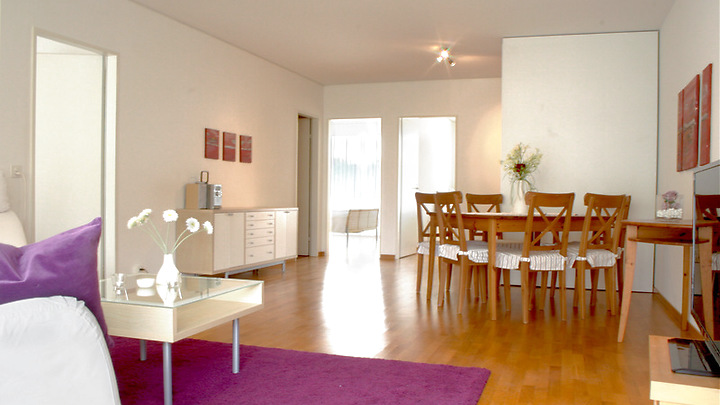 3½ room apartment in Basel - Kleinhüningen, furnished