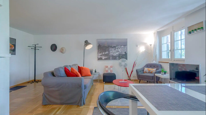 3½ room apartment in Zürich - Kreis 1, furnished, temporary