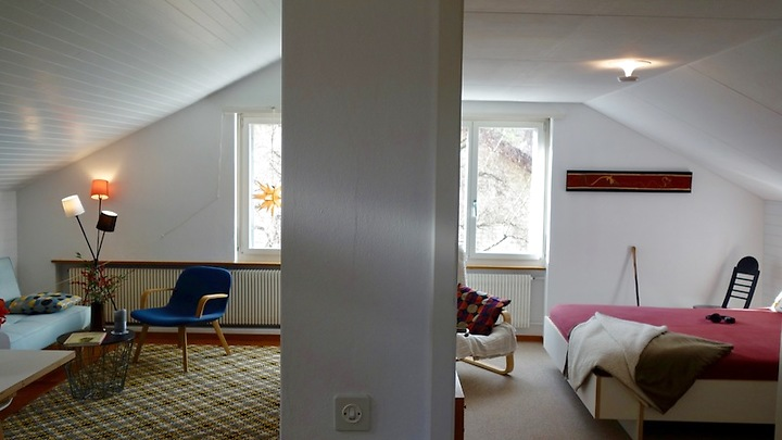 2 room attic apartment in Bern - Kehrsatz, furnished, temporary