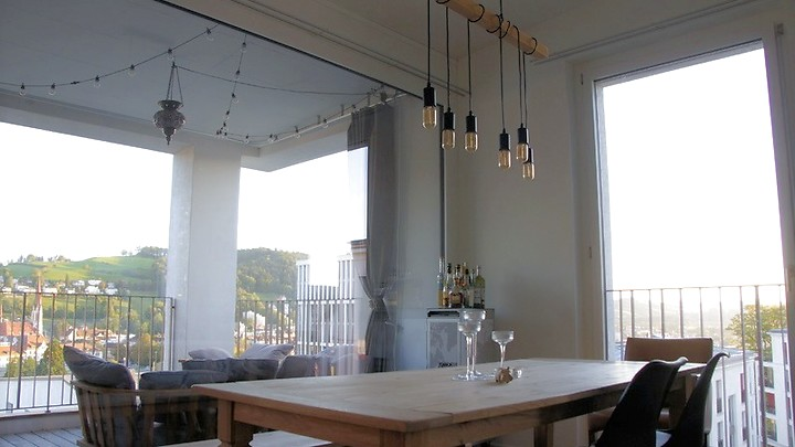 4½ room attic apartment (penthouse) in St. Gallen - Rosenberg, furnished, temporary