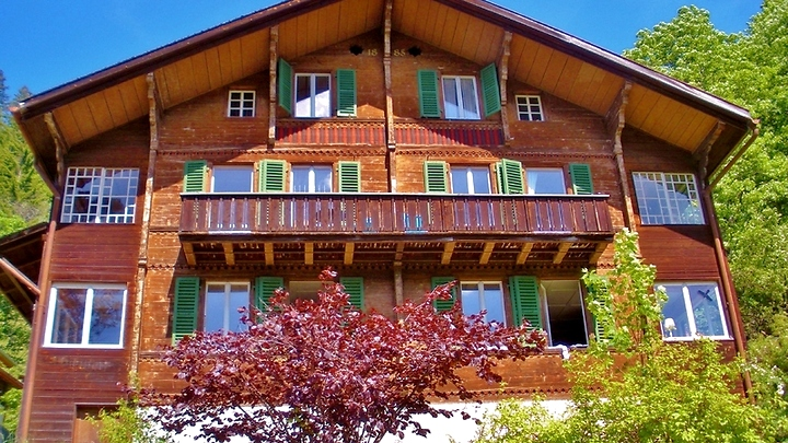 4 room apartment in Wengen (BE), furnished