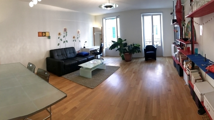 3 room apartment in Lausanne - Centre-Ville, furnished