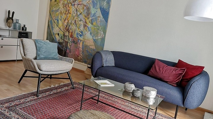 2 room apartment in Basel - St. Johann, furnished