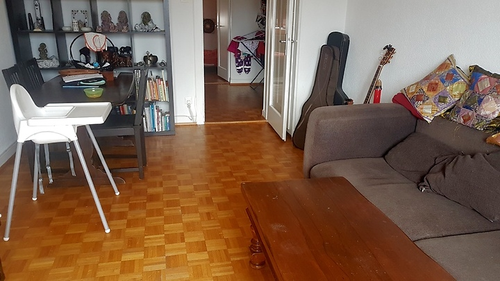 2½ room apartment in Lausanne, furnished, temporary