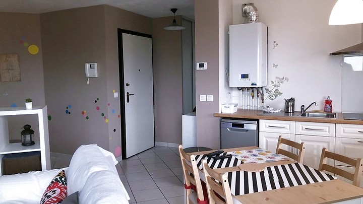 2 room apartment in Archamps (F), furnished