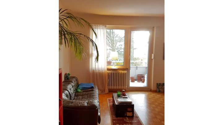 2½ room apartment in St. Gallen, furnished, temporary