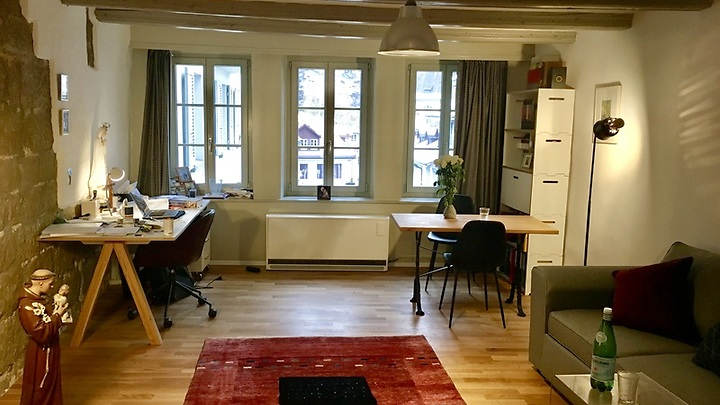 2 room apartment in Fribourg (FR), furnished, temporary