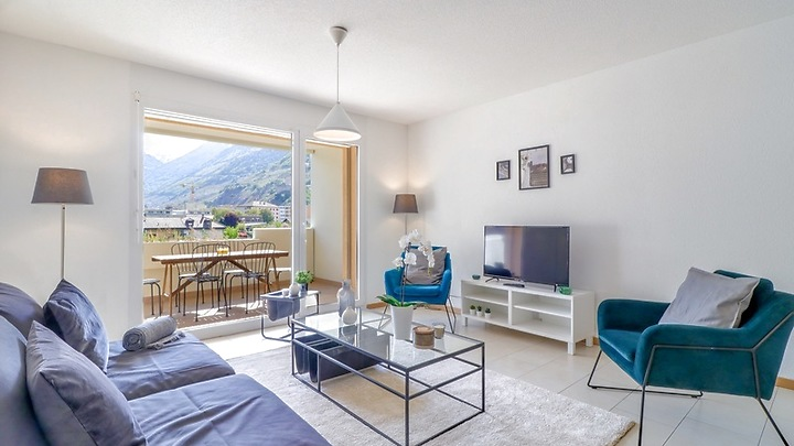 3½ room apartment in Martigny (VS), furnished