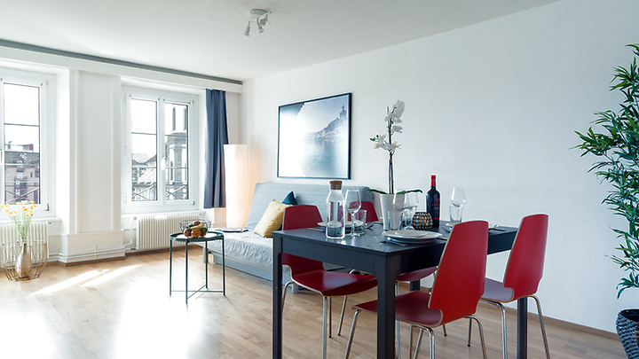 2½ room apartment in Luzern, furnished