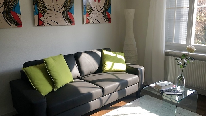 2½ room apartment in Bern - Bolligen, furnished