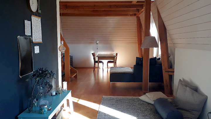 2 room attic apartment in Bern - Länggasse, furnished, temporary