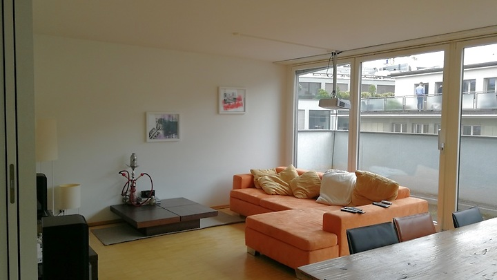 4 room attic apartment in Basel, furnished, temporary