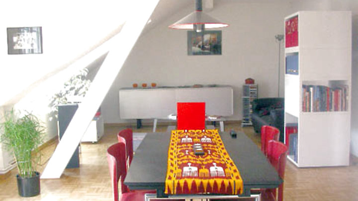 3½ room attic apartment in Luzern, furnished, temporary