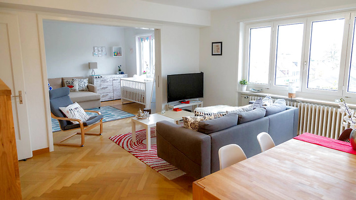 3½ room apartment in Zürich - Kreis 8 Seefeld/Mühlebach, furnished, temporary